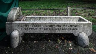 Cattle Trough and Drinking Fountain, Spaniards Road, Hampstead, London