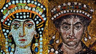 Teodora y Justiniano
