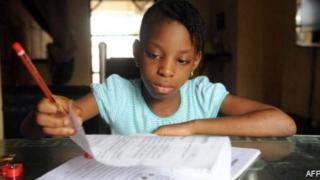 Children dey learn for house through online