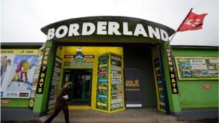 Borderland store at Muff