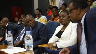 Bamwe mu bitavye inama y'abashingamateka ba EALA i Kigali mu Rwanda