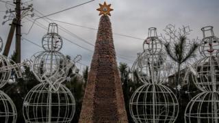 Ялинка у Доброславі на Одещині