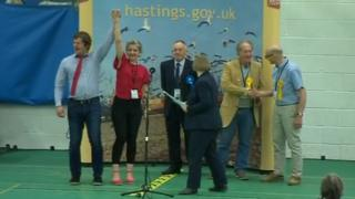 Andy Batsford and Antonia Berelson won the St Helen's ward