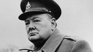 Churchill the war leader, c1945. All images are reproduced with the permission of the Sir Winston Churchill Archive Trust