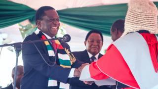 Mnangagwa aapishwa kuwa Rais wa Zimbabwe