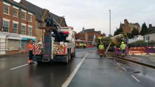 Carlton Road Nottingham flood