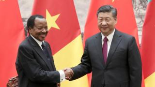 Paul Biya and Xi Jin-Ping
