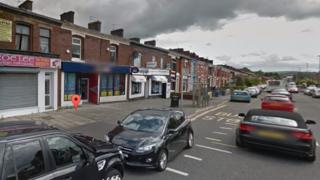Police are questioning a Blackburn man after the nine-year-old boy was hit by a car in Whalley New Road