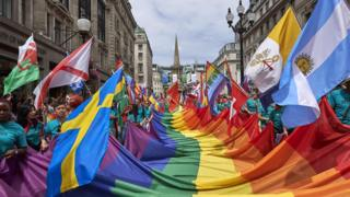 Pride Parade in London