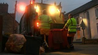 Waste collection in Pembrokeshire