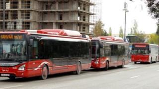 Sabah marşrut xətti dəyişdiriləcək avtobuslar açıqlanıb