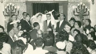 حفل زفاف في المعبد اليهودي بالخرطوم