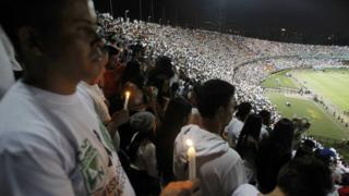 Fans sepakbola Brasil