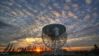 Grade I-listed Lovell Telescope at Jodrell Bank