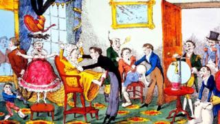 Электротерапию часто представляли чуть ли не как панацею - что и высмеивается в этой английской карикатуре