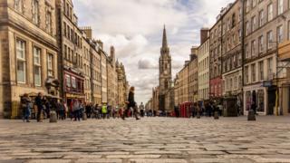 Street in Edinburgh