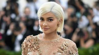 Kylie Jenner attends a gala at Metropolitan Museum of Art on 1 May 2017 in New York City.