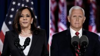 Kamala Harris and Mike Pence