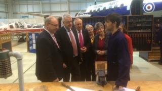 Labour EU campaign launch in Rhoose