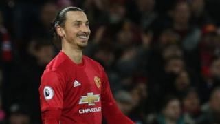 Zlatan Ibrahimovic ya ci kwallo 17 a wasa 27 da ya yi tun da ya koma Manchester United a watan Yuli