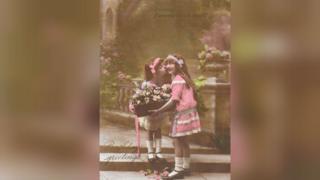Old postcard