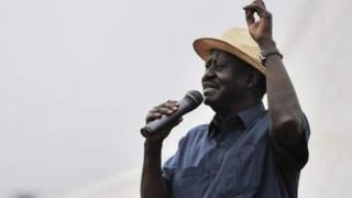 Raila Odinga hogaamiyaha mucaaradka Kenya