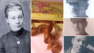 Kitty Wilmot, her sons and their childhood hair