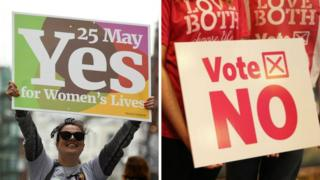 Abortion referendum yes/no