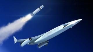 Artwork: Space plane