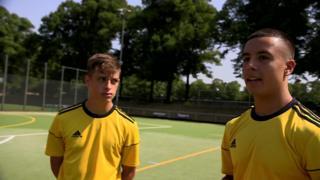 İki Türkiye kökenli Alman genç futbolcu