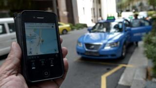 新加坡的Uber出租車業務