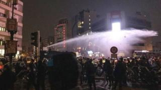تہران میں مظاہرہ