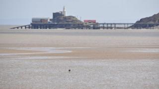 The Mumbles coastline in Swansea