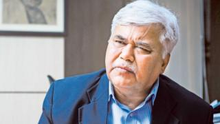 Ram Sewak Sharma, chief of India's telecom regulator