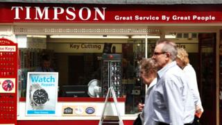 Timpson storefront