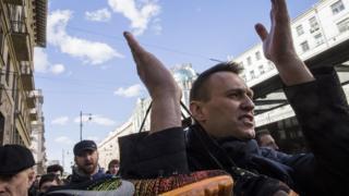 Навального затримали майже одразу після того, як він приїхав на акцію в Москві