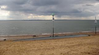 Southend sea front