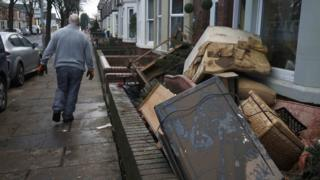 Damage in Carlisle