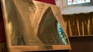 Aldermaston plaque