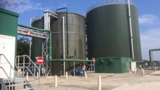 Anaerobic digestion tanks