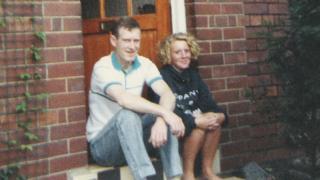 David Swindells and daughter Lisa