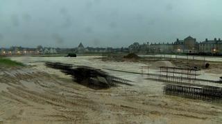 Poundbury building site where school will be built