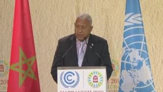 Frank Bainimarama, primer ministro de Fiyi
