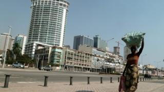 Luanda's seaside promenade
