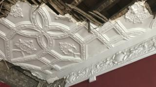 Jacobean ceiling, Small Street, Bristol
