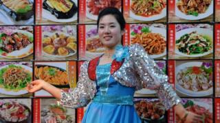 Северокорейский ресторан в Китае