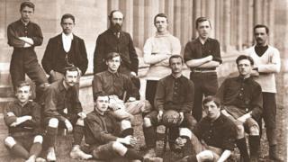 The Aberystwyth University football team 1894-1895