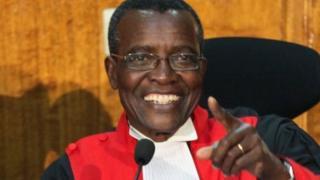 Jaji mkuu David Maraga wa Kenya amemshutumu inspekta jenerali wa polisi Joseph Boinet Chief kwa kukataa wito wa kuimarisha usalama wa majaji na mahakama