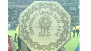 Neno Shield liliandikwa kimakosa na kusomeka ''Sheild''