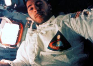 Bill Anders on Apollo 8